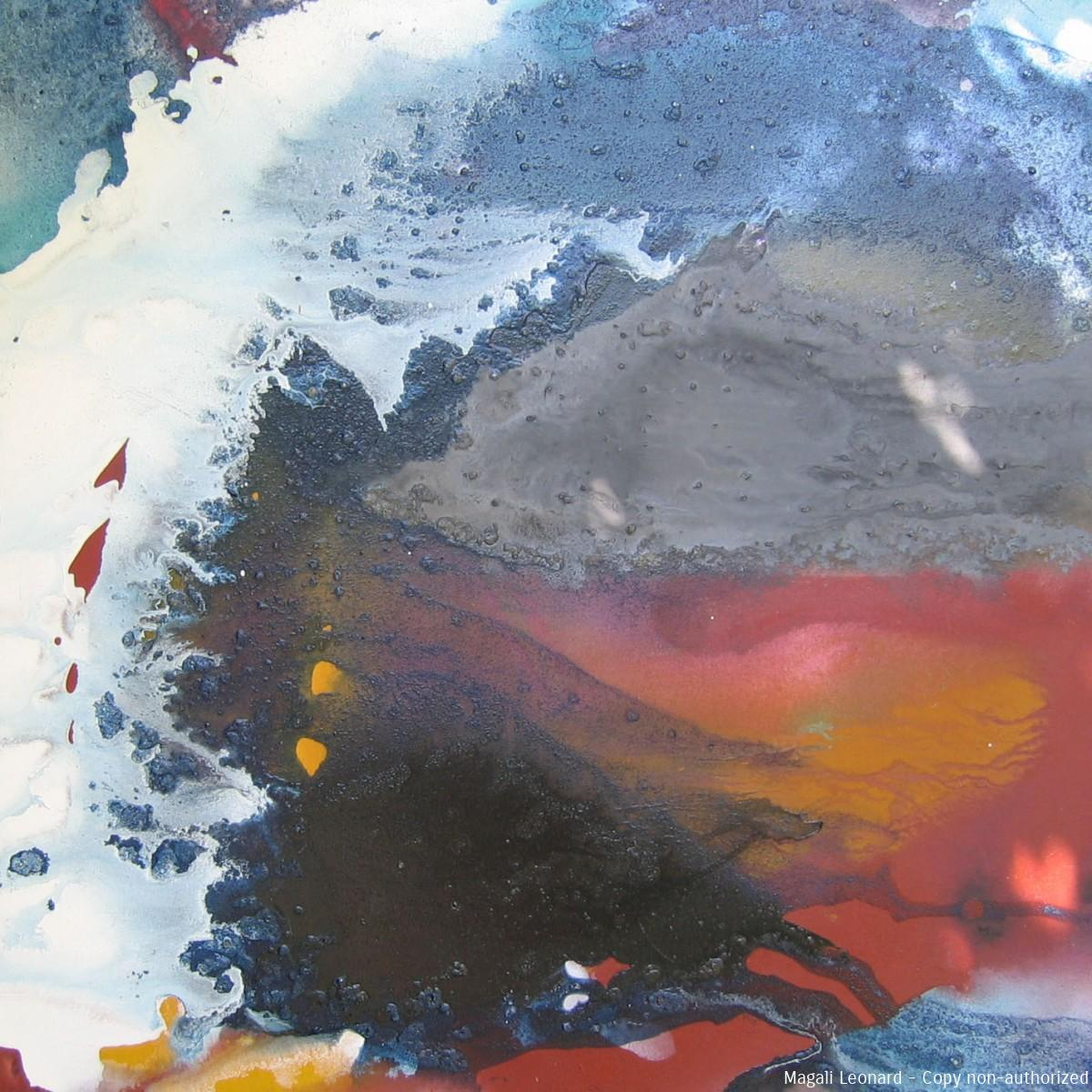 Cosmognoie 1, 2009, Acrylic on canvas, 31,49 X 31,49 inches, 80 X 80 cm copie