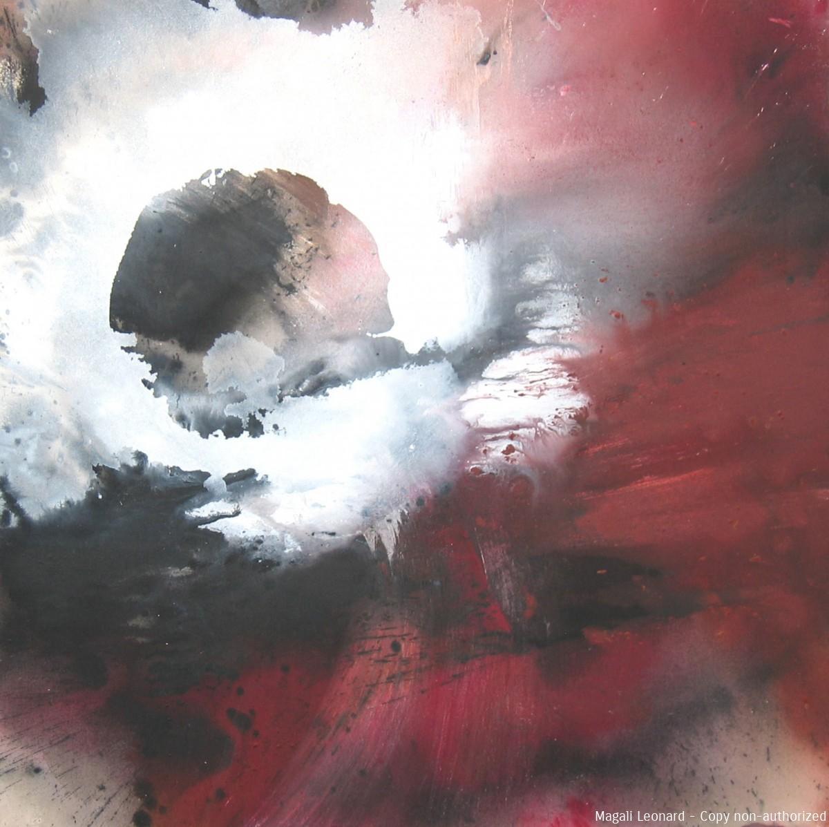 Cosmogonie 7, 2009, Acrylique sur toile, 100 X100