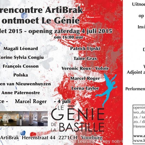 Invitation---ARTIBRAK--Le-Génie-de-le-Bastille---Voorburg