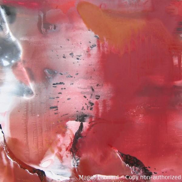 Cosmogonie 12, 2010, Acrylic on canvas, 39,39 X 39, 37 inches,100 X 100cm copie