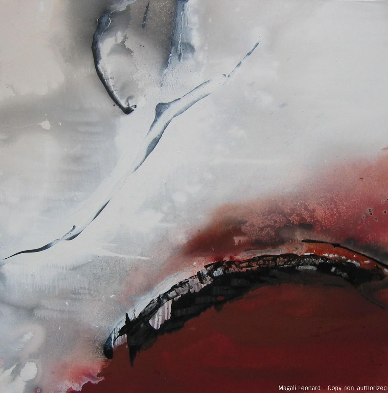 Cosmogonie 8, Acrilic on canvas, 39, 37 X 39, 37 inches, 100 X 100cm copie