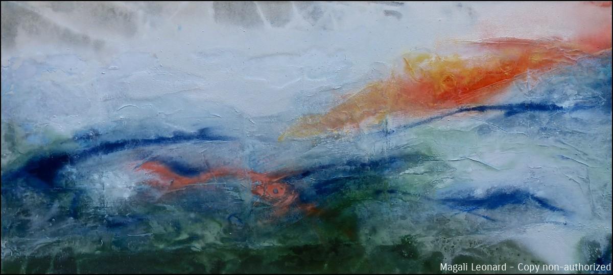 2020 , Acrylique sur toile, 120 x 55 cm