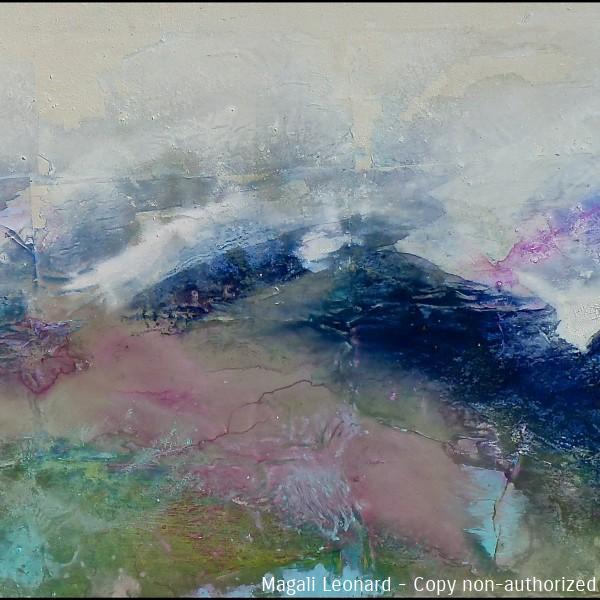 2020, Acrylique sur toile ,120 55 cm