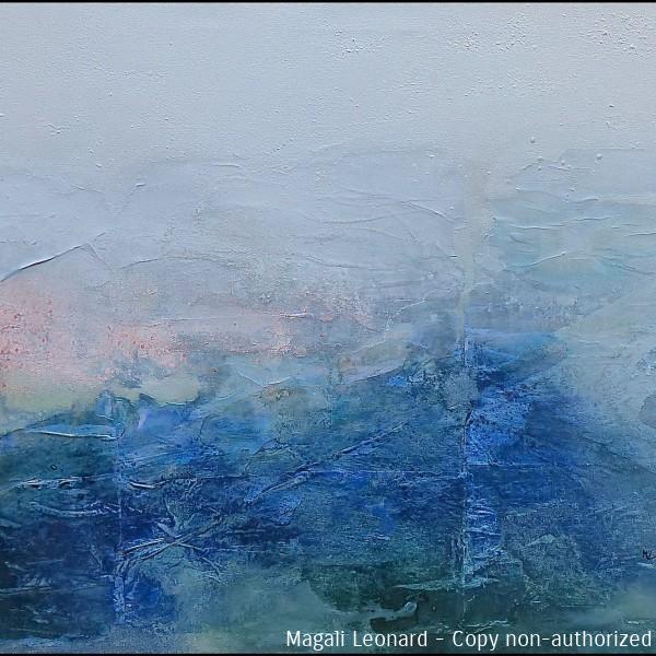 2020, Acrylique sur toile, 120 x 55 cm